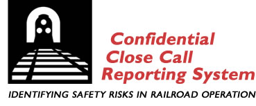 Logo of Confidential Close Call Reporting System