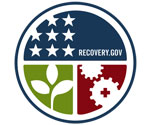 American Recovery & Reinvestment Act Logo; width:150