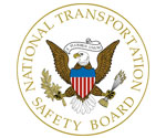National Transportation Safety Board Logo; width:150