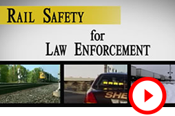 Rail Safety for Law Enforcement Video